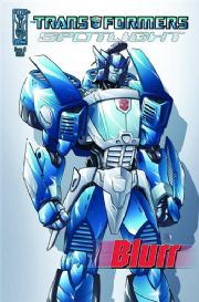 Transformers Spotlight Blurr Cover A (2008) IDW Publishing comic book
